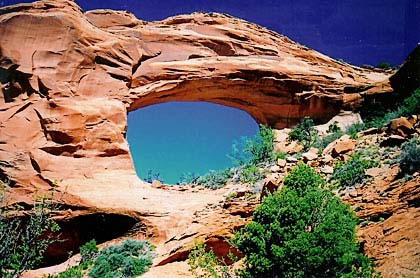 Black Horse Arch Arizona